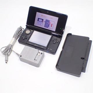 ニンテンドー3DS(ニンテンドー3DS)のC271 NINTENDO 任天堂 3DS 本体 CTR-001 ACアダプタ (携帯用ゲーム本体)