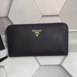 「プラダ財布」PRADA クリスマス お年玉プレゼント 番号L0506
