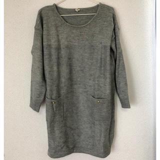 ヴィス(ViS)の美品 VIS ニット ワンピース(ニット/セーター)