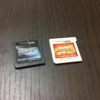ニンテンドー3DS(ニンテンドー3DS)のポケモンセット(携帯用ゲームソフト)
