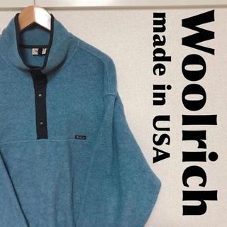 ウールリッチ(WOOLRICH)の古着屋購入 Woolrich ウールリッチ USA製 フリース 1031(ブルゾン)