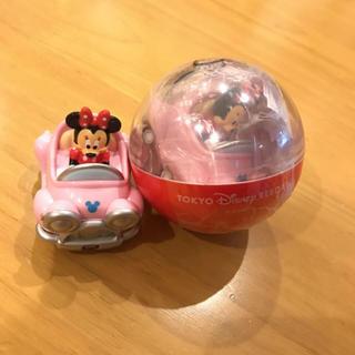 ディズニー(Disney)のディズニーランド ガチャガチャ ミニーマウス 車 おもちゃ(キャラクターグッズ)