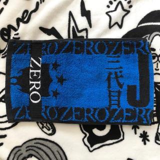 サンダイメジェイソウルブラザーズ(三代目 J Soul Brothers)の三代目 ZERO タオル(ミュージシャン)