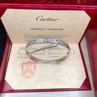 カルティエ(Cartier)のラブブレス ラブブレスレット フルダイヤ (ブレスレット/バングル)