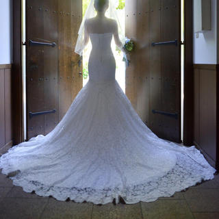 マーメイドウェディングドレス 6点セット
