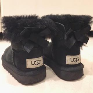 アグ(UGG)のUGG ミニベイリーボウ キッズ 14.5cm(ブーツ)
