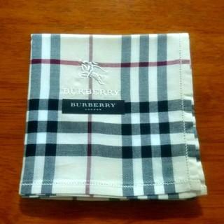 BURBERRY - 【新品】バーバリー ハンカチ