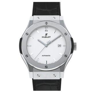 ウブロ(HUBLOT)のウブロ HUBLOT クラシックフュージョン チタニウムシルバー文字盤(腕時計(アナログ))