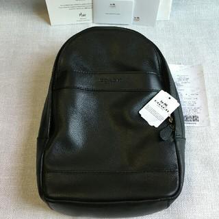 COACH - COACHバッグコーチ正規品ボディバッグF54770 ブラック メンズバッグ