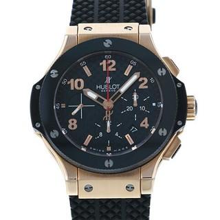 ウブロ(HUBLOT)のウブロ HUBLOT ビッグバン ブラック文字盤 メンズ 腕時計(腕時計(アナログ))