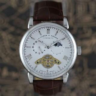 ランゲアンドゾーネ(A. Lange & Söhne(A. Lange & Sohne))のランゲ&ゾーネ A.LANGE&SOHNE メンズ自动卷き 時計 ホワイト文字盤(腕時計(アナログ))