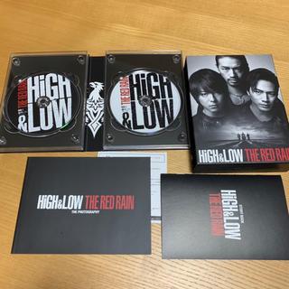 エグザイル(EXILE)の即発送🌸初回豪華盤 HiGH&LOW THE RED RAIN ブルーレイ🍀(日本映画)