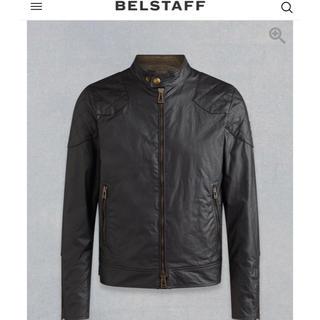ベルスタッフ(BELSTAFF)の値下げ美品ベッカム着用ベルスタッフアウトロージャケット サイズ48M位定価13万(ライダースジャケット)