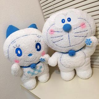 ドラえもん&ドラミちゃん ウィンターブルー BIG ぬいぐるみ2018(ぬいぐるみ)