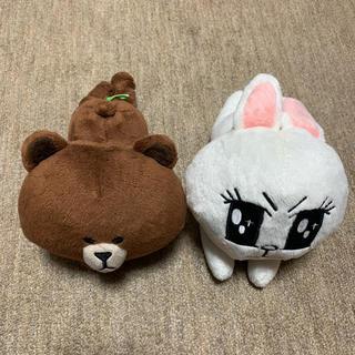 コニーとブラウンのぬいぐるみ(キャラクターグッズ)