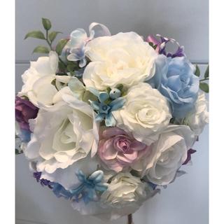 ブーケ ブートニア 花冠セット 結婚式(ブーケ)