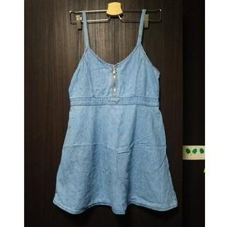 シマムラ(しまむら)のUSED   ジャンパースカート  160  キッズ(スカート)