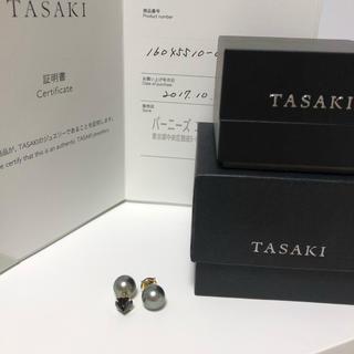 タサキ(TASAKI)のタサキ  TASAKI リファインドリベリオンピアス  黒蝶×ブラックスピネル(ピアス)