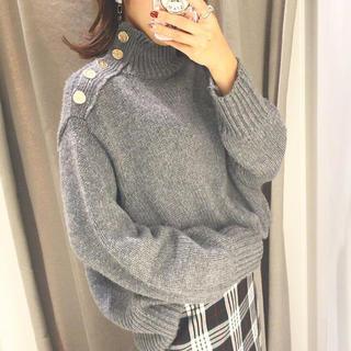 ZARA - ZARA ボタン付きセーター