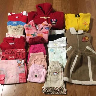ムージョンジョン(mou jon jon)の女の子95 100まとめ売り(Tシャツ/カットソー)