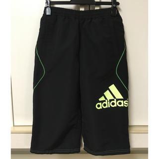 アディダス(adidas)の美品◎adidas◎防寒 クウォーターパンツ 150cm アディダス ジャージ(パンツ/スパッツ)