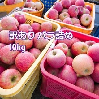 Hiyoriさま★ 10kg 山形県産 ふじ 訳あり バラ詰め(フルーツ)