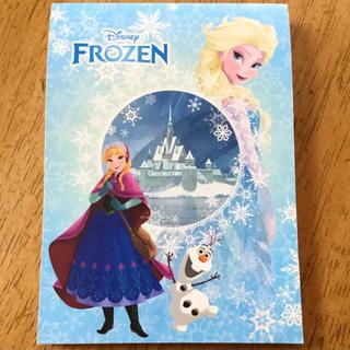 ディズニー(Disney)のアナ雪 メモ帳(ノート/メモ帳/ふせん)