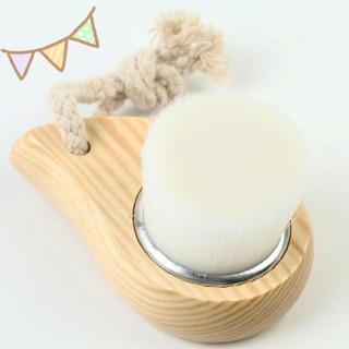 【新品・送料無料】洗顔ブラシ 超極細ブラシ
