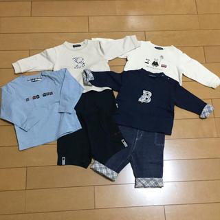 バーバリー(BURBERRY)のバーバリー 7点 セット Tシャツ トレーナー パンツ ズボン 80(その他)