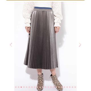 ローズバッド(ROSE BUD)のローズバッド  ミモレ丈プリーツスカート(ロングスカート)