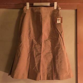 スキャパ(SCAPA)の新品 SCAPA コーデュロイスカート(ひざ丈スカート)