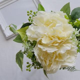 ウェディングブーケ クラッチブーケ 花束 造花 ナチュラル クラシック(ブーケ)