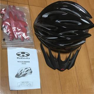 オージーケー(OGK)の美品 OGK Kabuto Regas2 ロード ヘルメット(ウエア)