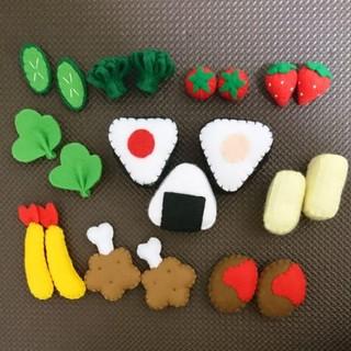 ハンドメイド⭐フェルト おままごと(おもちゃ/雑貨)