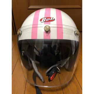 オージーケー(OGK)のOGKヘルメット BOB ピンクスター シールド付き(ヘルメット/シールド)
