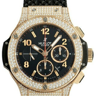 ウブロ(HUBLOT)のウブロ スーパーコピー ビッグバン エボリューション ゴールドダイヤモンド(腕時計(デジタル))