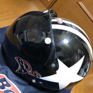 オージーケー(OGK)のOGK ヘルメット BOB スター シールド付き(ヘルメット/シールド)