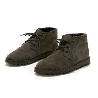 hobo ホーボ Boots  AIRWALK シープスキン エアウォーク(スリッポン/モカシン)