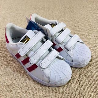 アディダス(adidas)の新品  adidas アディダス スーパースター 18㎝ キッズ(スニーカー)
