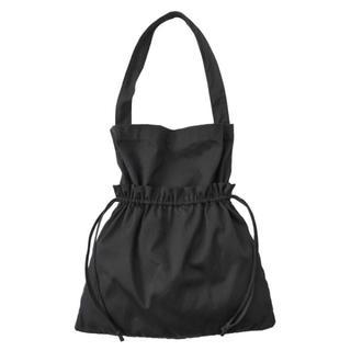 即完売 クラネ ★ショルダーギャザートートバッグ 黒 新品 クリスマスに是非(トートバッグ)