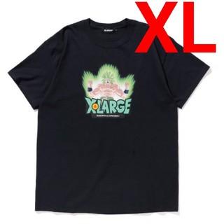 エクストララージ(XLARGE)の希少XLサイズ XLARGE ドラゴンボール ブロリー コラボ Tシャツ(Tシャツ/カットソー(半袖/袖なし))