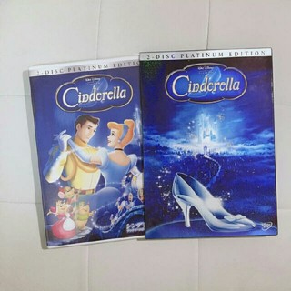 Disney - ディズニー 映画『シンデレラ』2枚組 プラチナエディションDVD