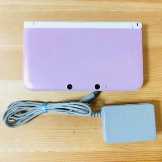 ニンテンドー3DS(ニンテンドー3DS)の3DSLL本体(ピンクホワイト)(携帯用ゲーム本体)