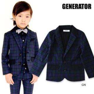 ジェネレーター(GENERATOR)のブラックウォッチ スーツ セット(ドレス/フォーマル)