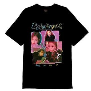 週末限定お値下げ中【 YG公式 】M ブラック BLACKPINK Tシャツ(アイドルグッズ)