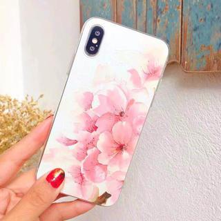 15 綺麗 上品 サクラ柄 桜 さくら アイフォン ケース アイフオン(iPhoneケース)