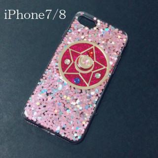 新品★iPhone7/8専用★セーラームーン ピンク×クリスタルスター(iPhoneケース)