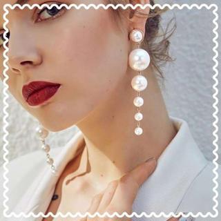 【ラクマ最安値!】 パール ピアス ゴールド 新品未使用 真珠 ブライダル(ピアス)