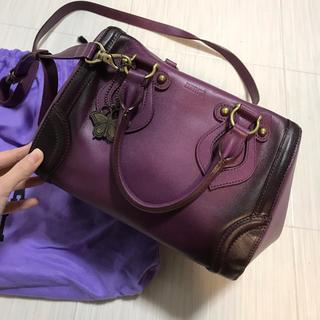 アナスイ ANNA SUI ショルダーバッグ 紫