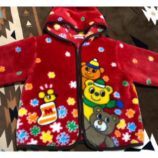 ミキハウス(mikihouse)のひふみ様専用 ミキハウス 100 あったか コート アウター 毛布 (ジャケット/上着)